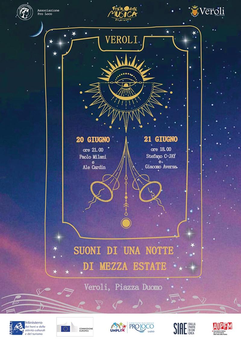 Eventi in Ciociaria - Veroli in Musica nella locandina