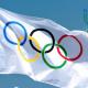 Campo Coni di Frosinone - Bandiera Olimpica con i cerchi
