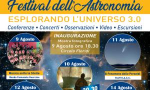 Osservatorio astronomico - Campo Catino e la locandina