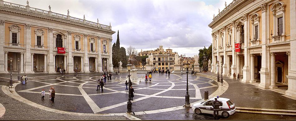 Sala degli Orazi e Curiazi - la magnificenza dei Musei Capitolini