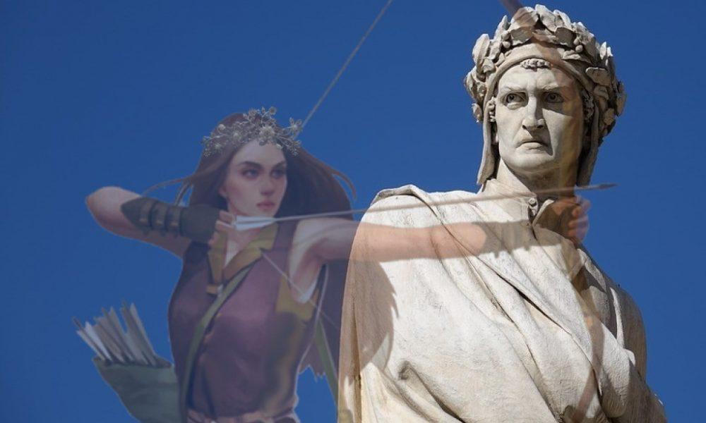 Dante cita la regina Camilla - Dante E Camilla l'amazzone