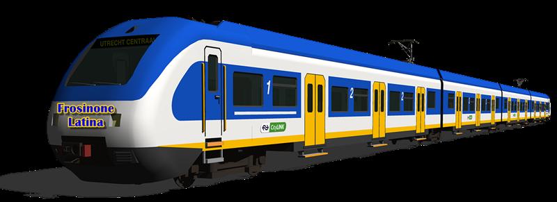 Frosinone Latina in treno - esempio di Metro Di Superficie