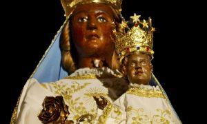 La Madonna di Canneto - Madonna Di Canneto nella statua originale