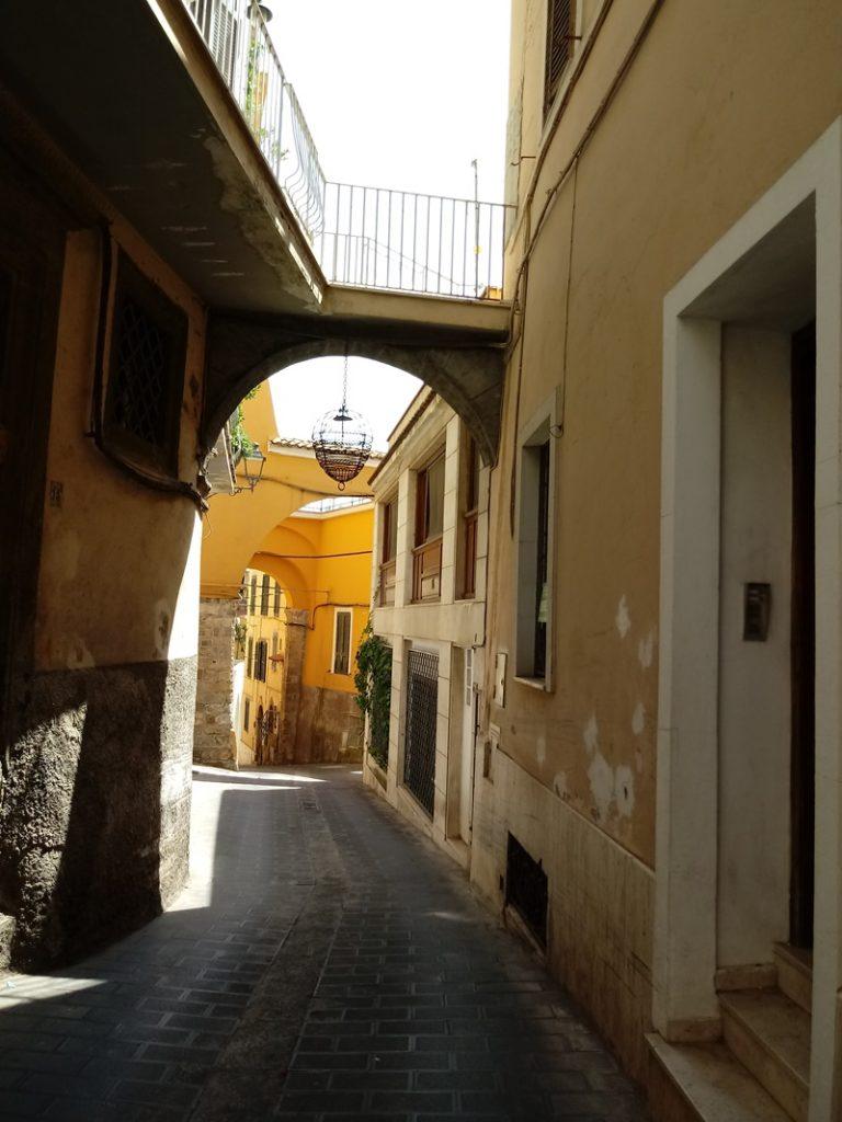Elisa Bertino - Arco nel centros torico di Frosinone