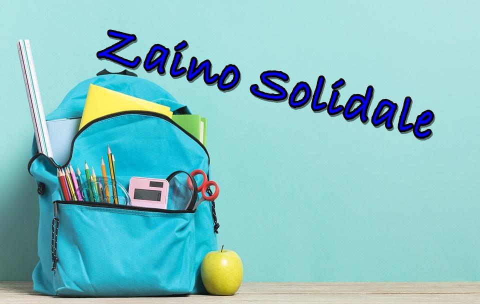 Zaino Solidale - zainetto celeste