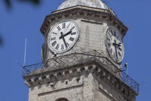 Il campanile di Frosinone - Campanile in primo piano