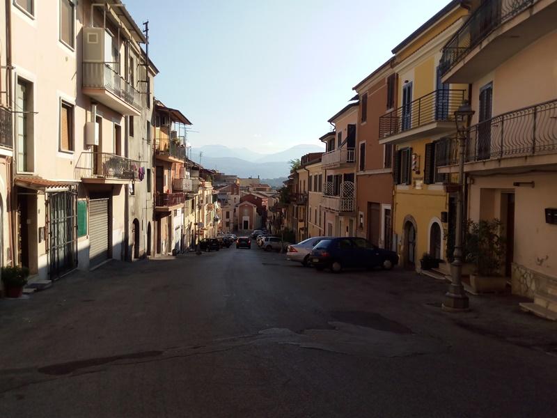 il campanile di Frosinone - quartiere giardino