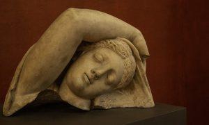 Galleria d'arte a Frosinone - Scultura in un dettaglio
