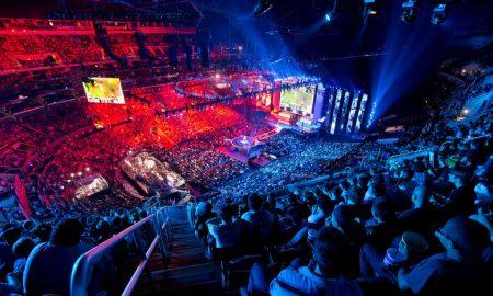E-Sports. Durante una competizione di giochi elettronici
