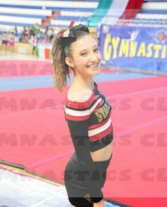 Chiara Costanzo. Atleta Cheerleading