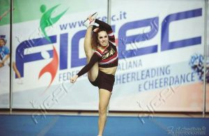 Claudia Cascino. Atleta Cheerleading