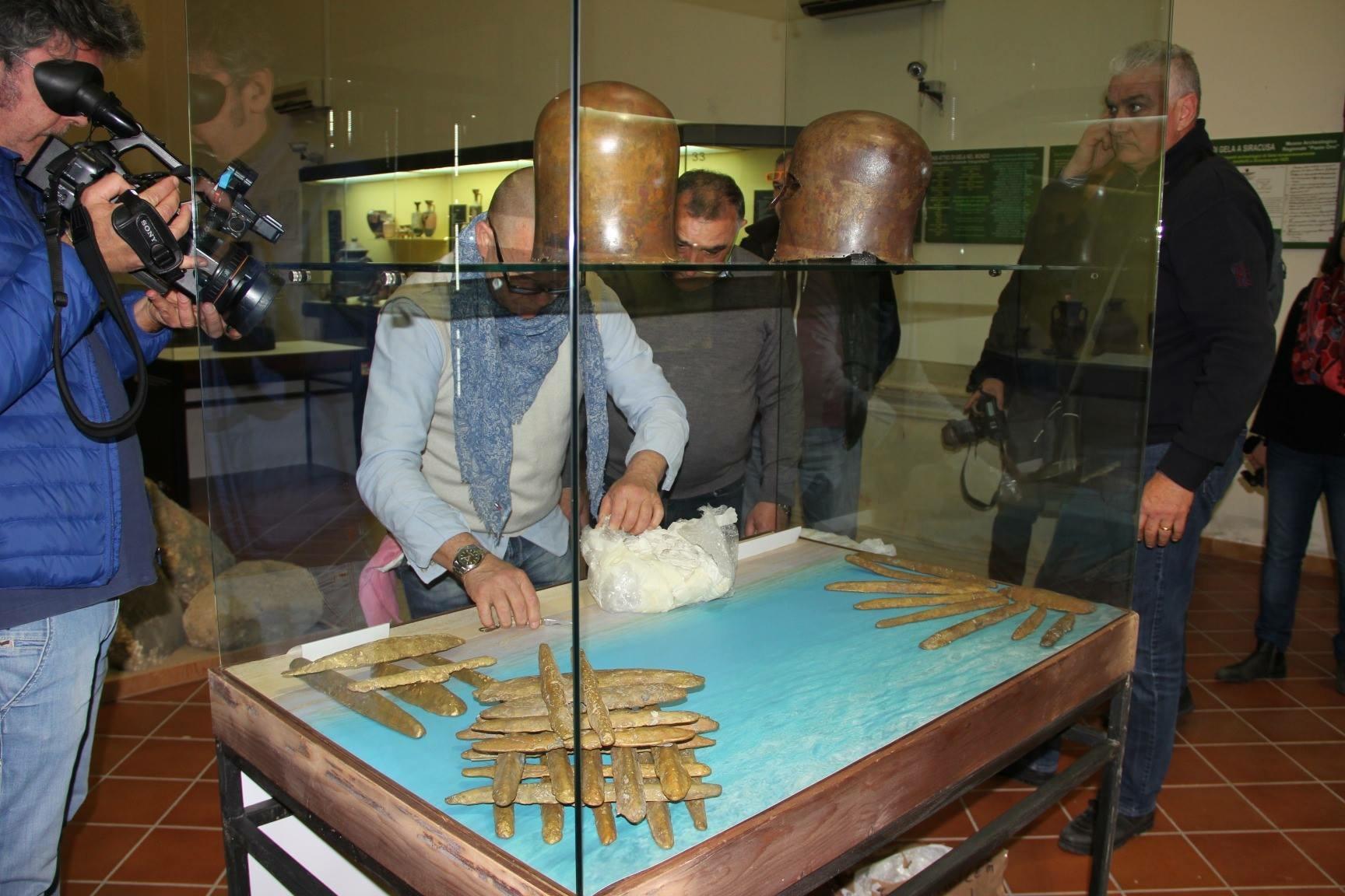 Elmi e oricalchi Museo Archeologico di Gela