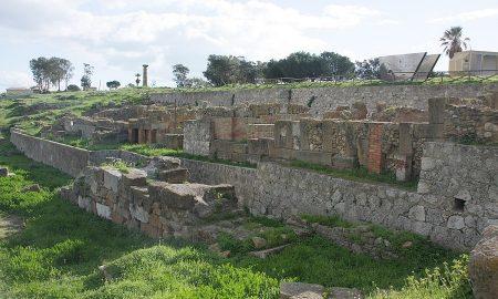 Panoramica dell'acropoli di Gela