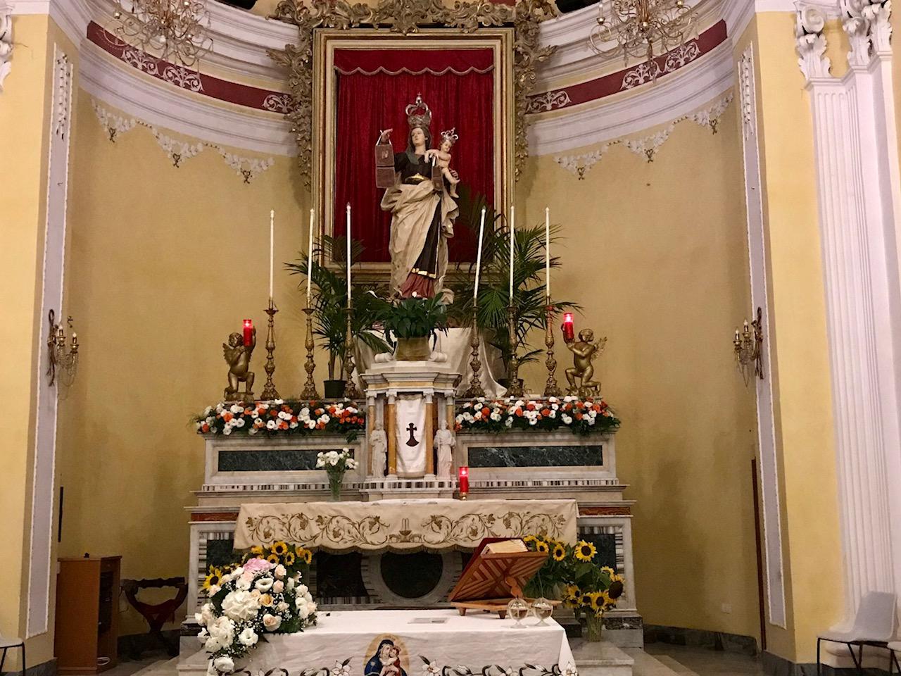 Madonna del Carmine Gela