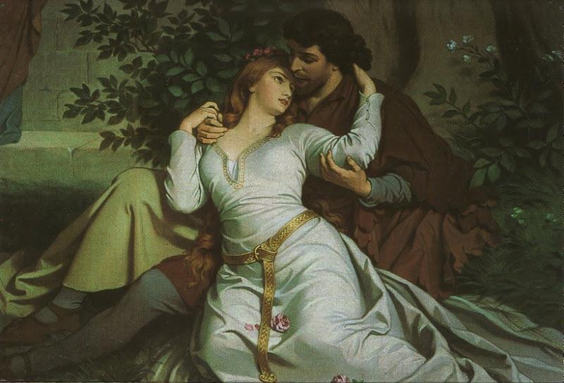 Non ci volle molto prima che i due giovani cadessero preda dell'amore