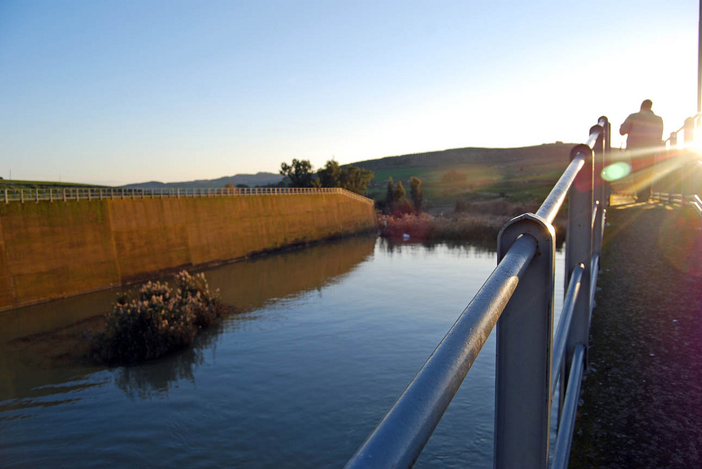 La diga Disueri (Foto di Fabio Cafà)