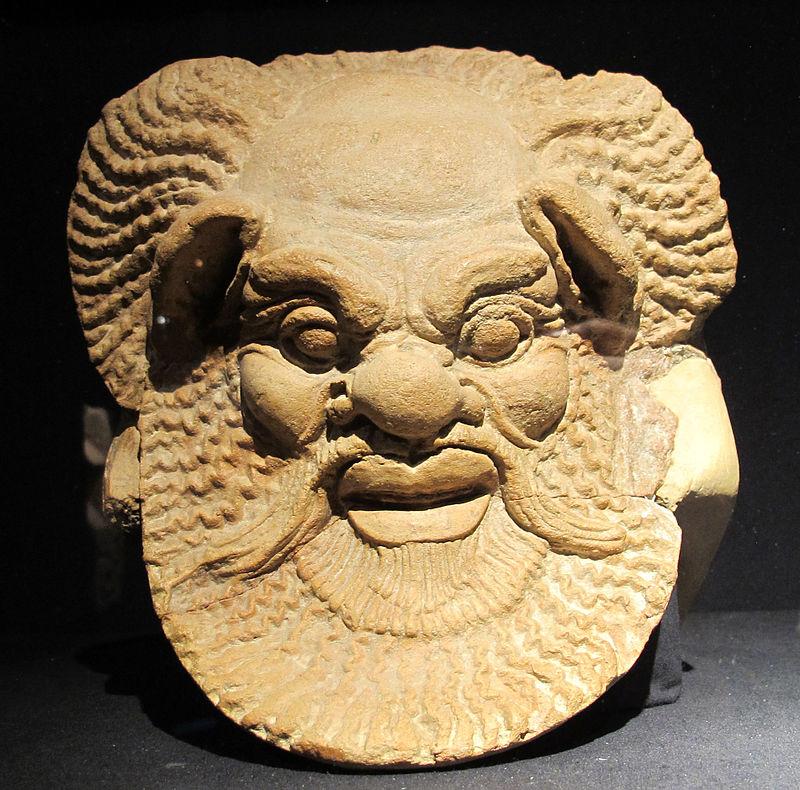 800px Antefissa A Testa Di Sileno, 470 460 Ac Ca., Da Gela (m.a. Reg.le Gela)