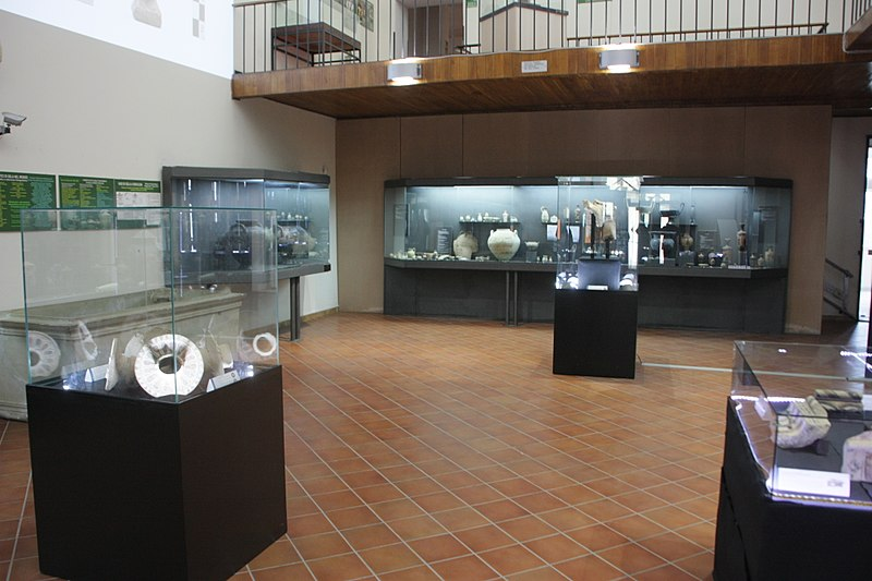 800px Sala Del Museo Di Gela