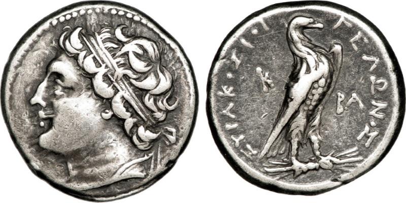 tiranni - Moneta coniata per Gelone