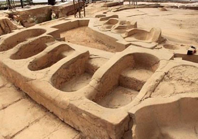 antica Grecia - Bagni Greci, complesso termale a Gela