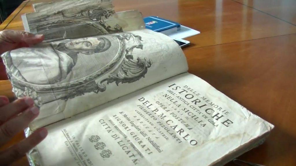 Volumi Antichi nella biblioteca comunale