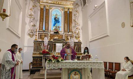 Immacolata nella chiesa di San Francesco d'Assisi