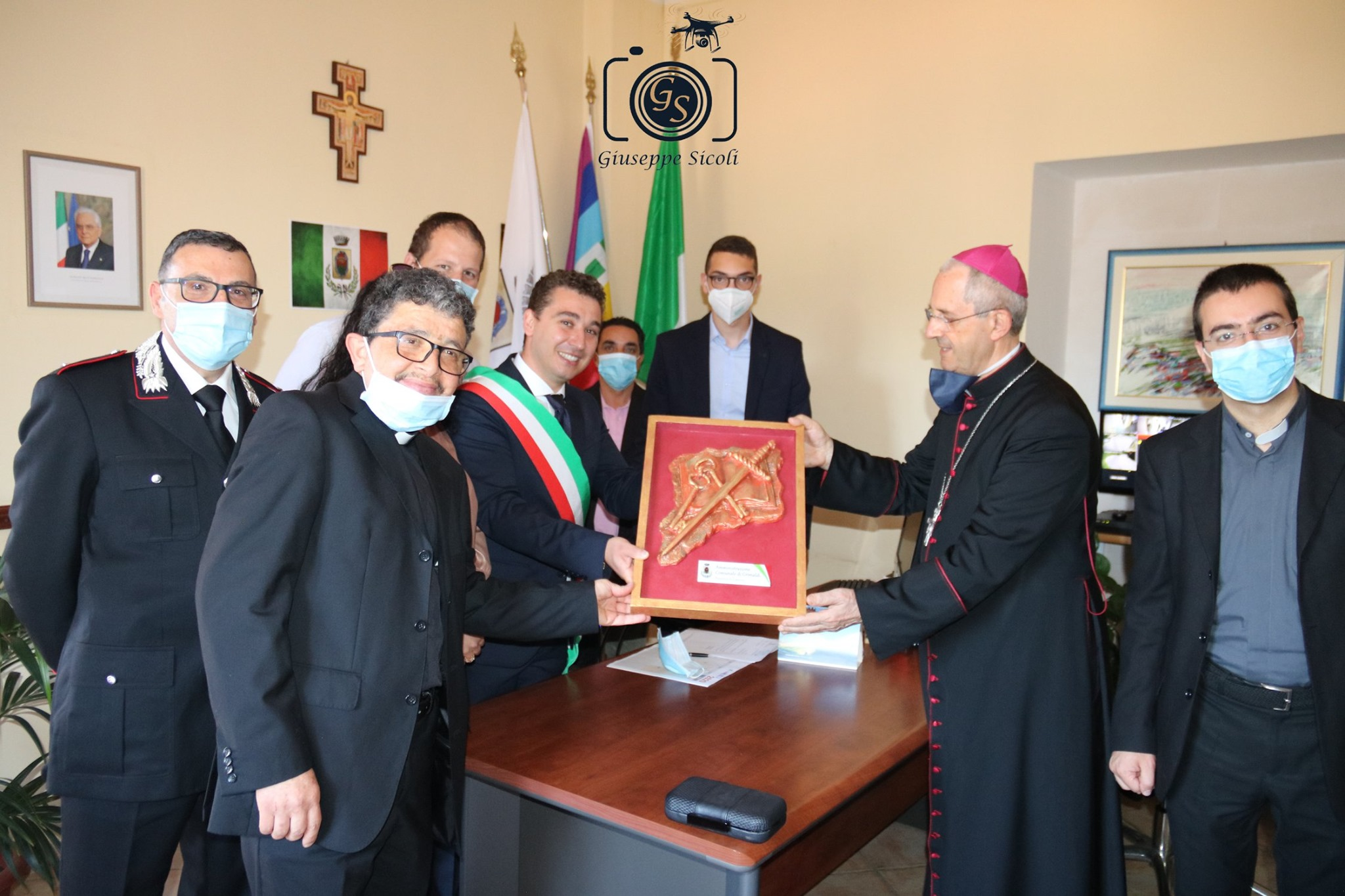 Santi Patroni  Consegana al Vescovo