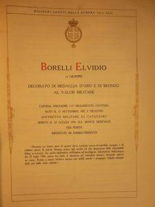 Medaglia Borelli