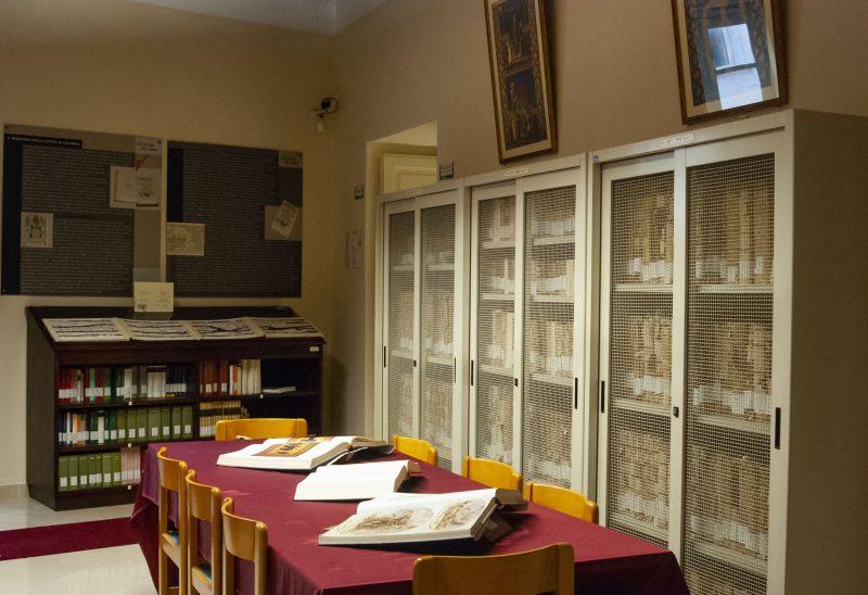 Casa Libro Antico Sala Lettura