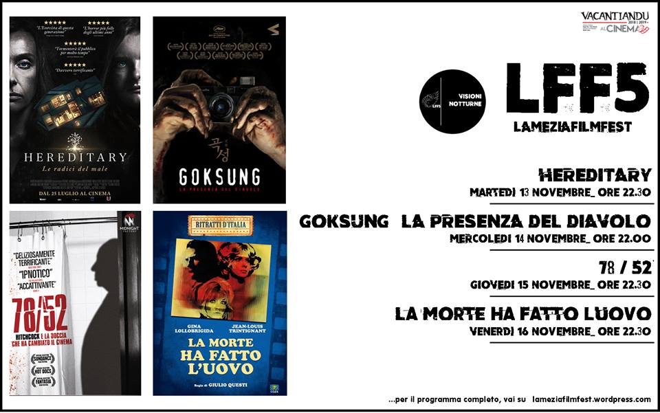 Lamezia Film Fest Visioni Notturne
