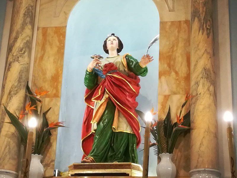 Santa Lucia-statua
