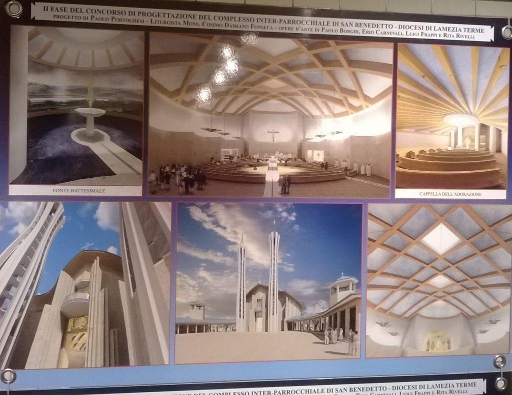 chiesa san benedetto - i dettagli del progetto