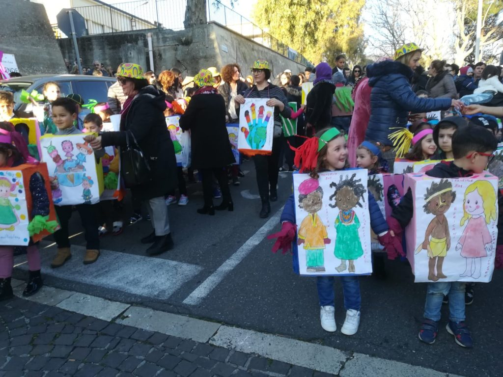 Carnevale Lamezia - sfilata dei bambini