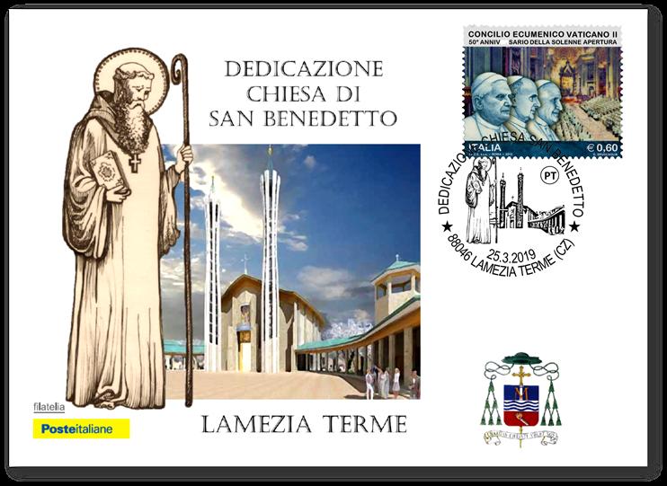 Chiesa San Benedetto - la cartolina di Poste Italiane