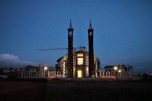 Chiesa San Benedetto - la facciata dell'edificio