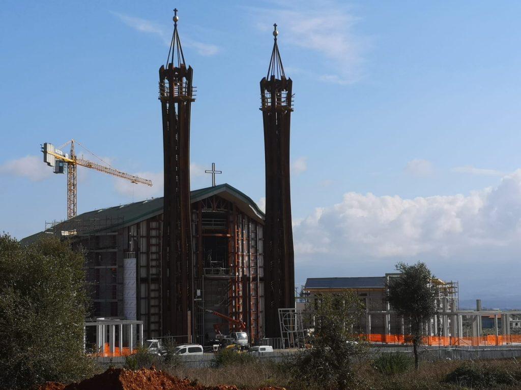 Chiesa San Benedetto - lavori in corso al cantiere