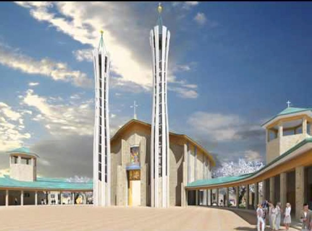 Chiesa San Benedetto - il Progetto del nuovo edificio