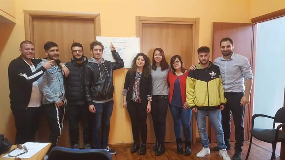 servizio civile una foto dei volontari