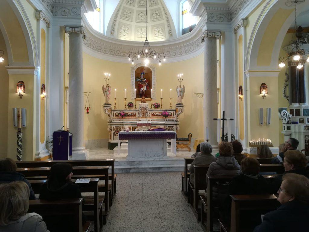 Chiesa San Teodoro - un momento della messa
