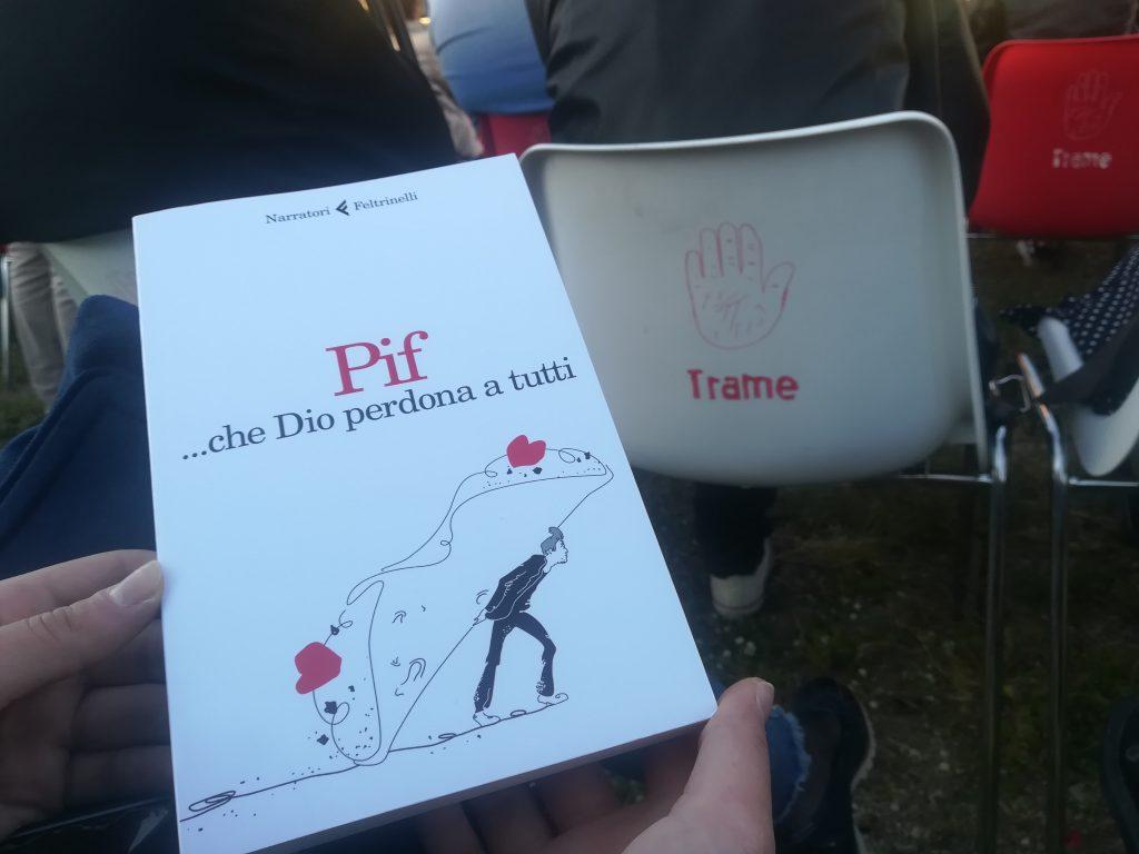 """il libro di Pif """"... che Dio perdona a tutti"""""""