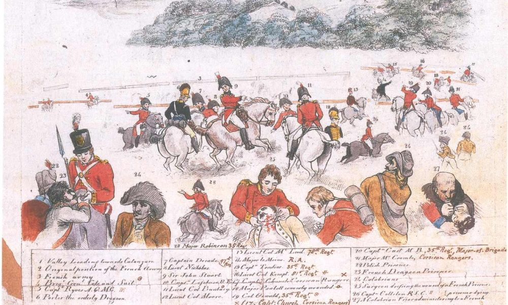 un'immagine della Battaglia Di Maida