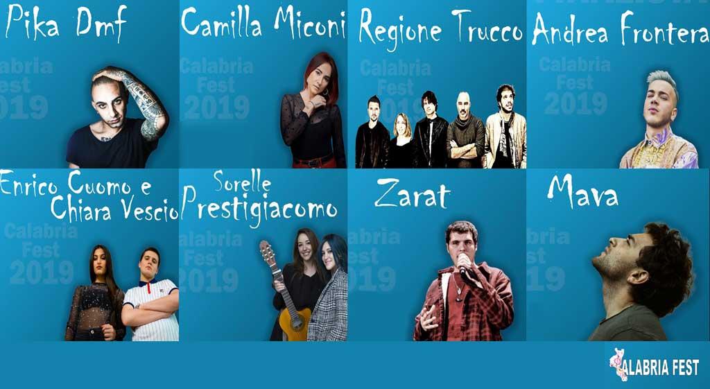 Finalisti Calabria Fest