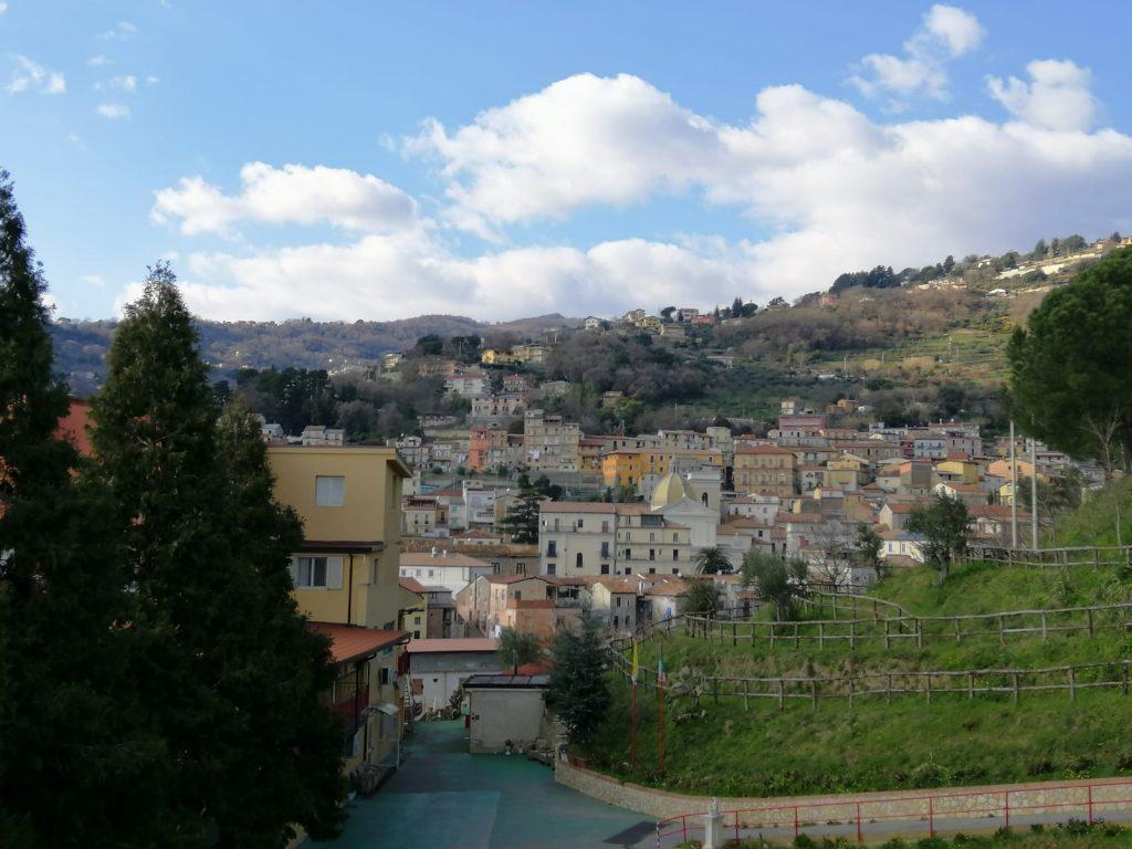 Panorama di Lamezia vista dal colle sant'antonio
