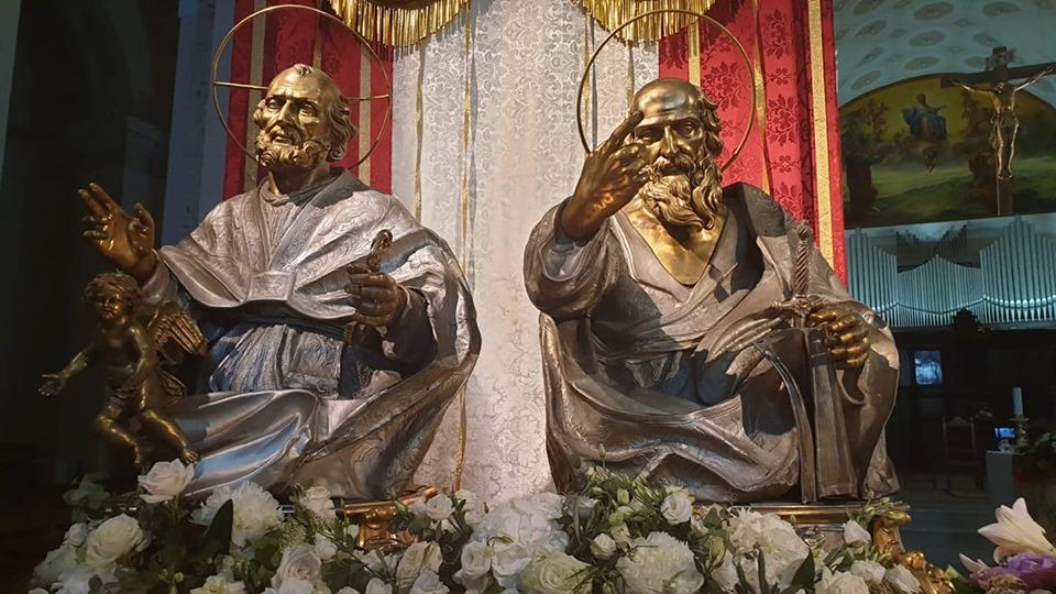 I santi Pietro e Paolo patroni di Lamezia e della diocesi