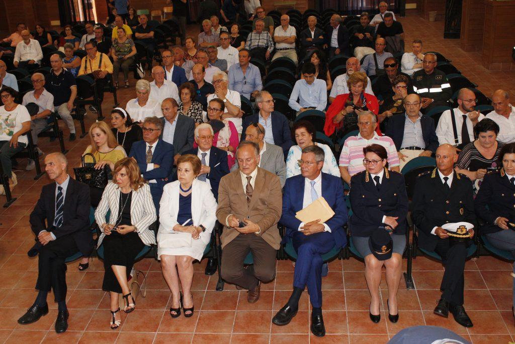 rotary - il pubblico presente alla cerimonia di premiazione di lamezia