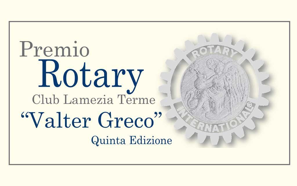 il premio dedicato a valter greco