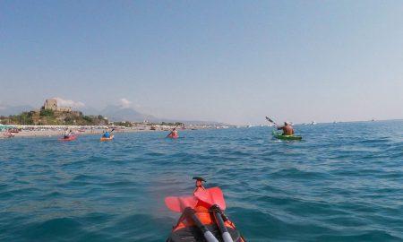 il tour in kayak alla riviera