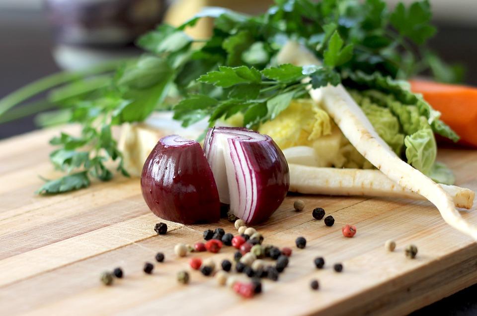 cipolla e altri alimenti