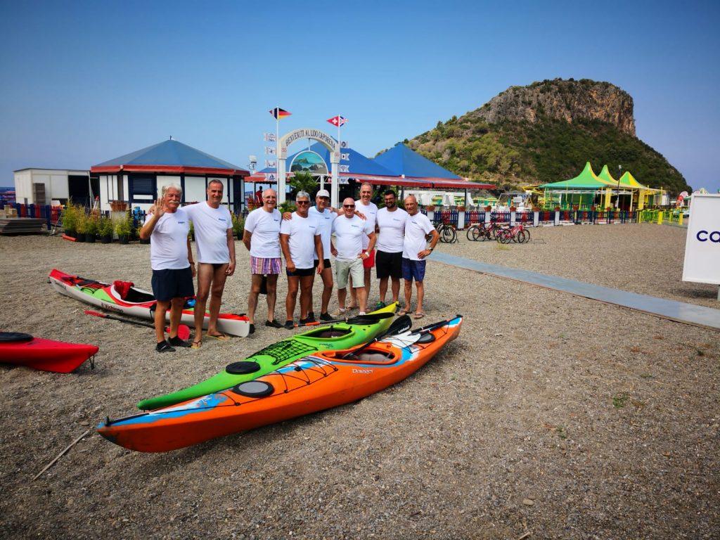 Partecipanti Al Tour In Kayak