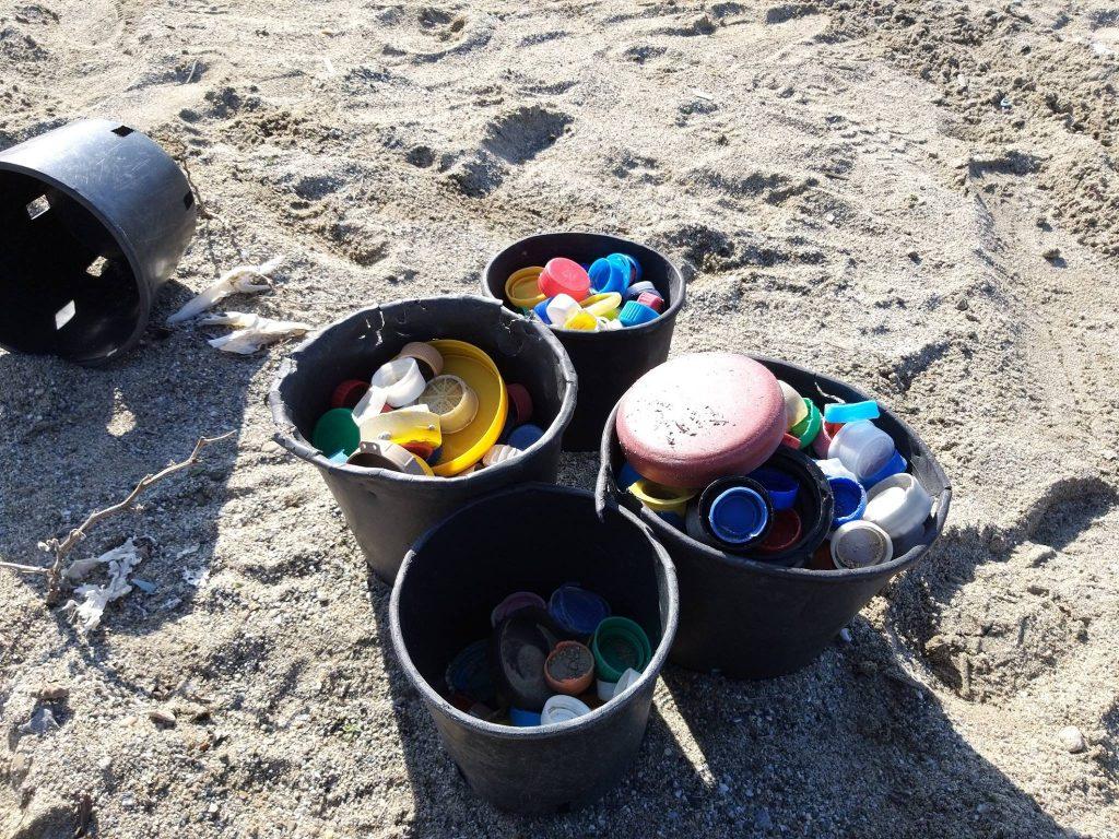tutela - Plastica Raccolta Sulla Spiaggia